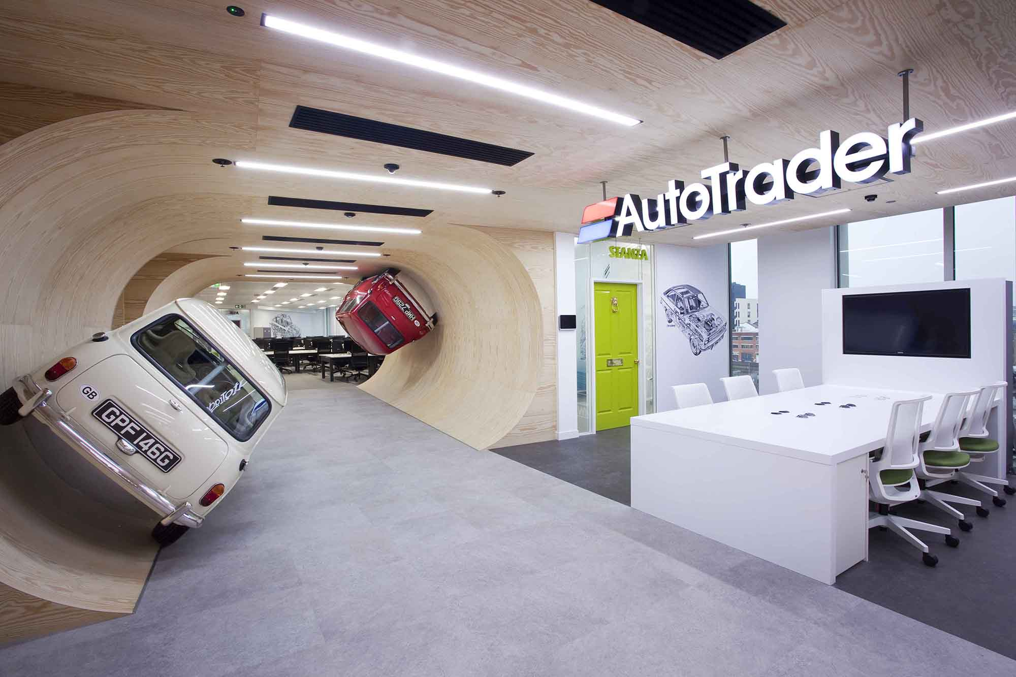 Building and Office Management - Autotrader Example