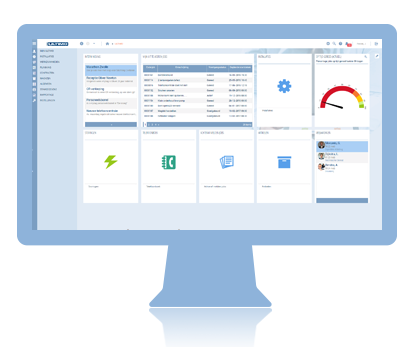 CMMS Dashboard in Ultimo