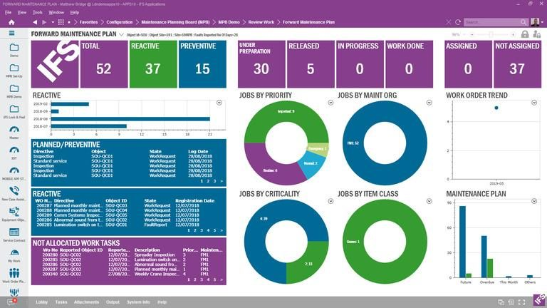 IFS CMMS - Pricing, Features, Capabilities & Testimonials